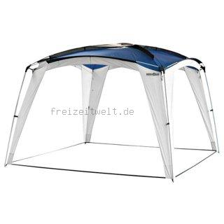 pavillon capri 3x3m in blau faltpavillon gartenzelt sonnenschutz popup wasserdicht farbauswahl. Black Bedroom Furniture Sets. Home Design Ideas